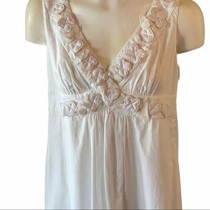 Vintage Fendi Appliqué Flower Dress! made in Italy